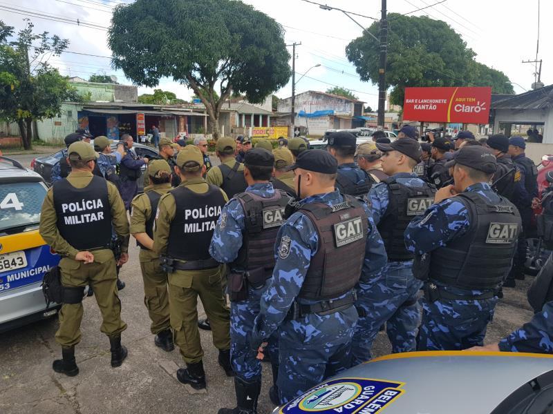 """As ações ocorreram entre quinta-feira, 18, com a Operação """"Belém Segura"""", na ilha de Mosqueiro, e seguiu nos distritos de Outeiro e Icoaraci, até o domingo de Páscoa, no dia 21"""