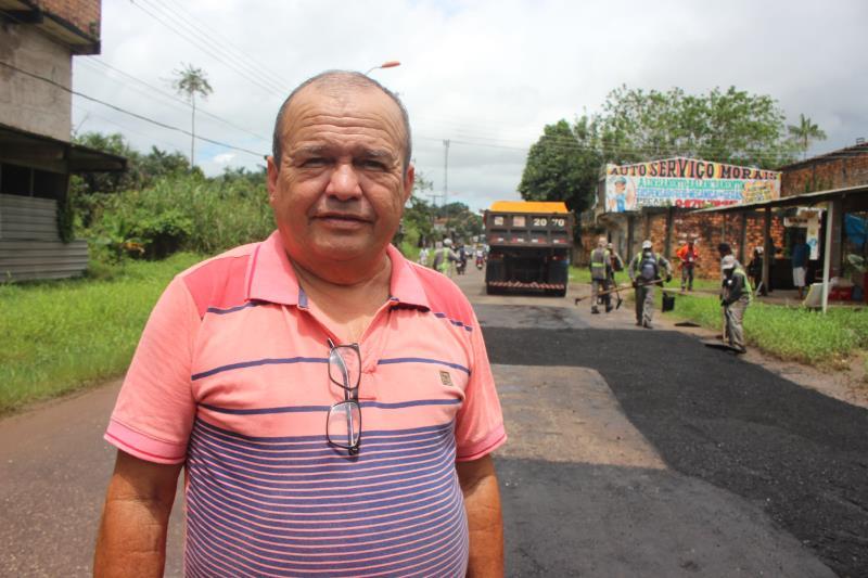 """""""Encontramos uma grande quantidade de lixo que tem prejudicado o escoamento da água"""", disse Raimundo Otávio, diretor de desenvolvimento urbano  da Arout."""