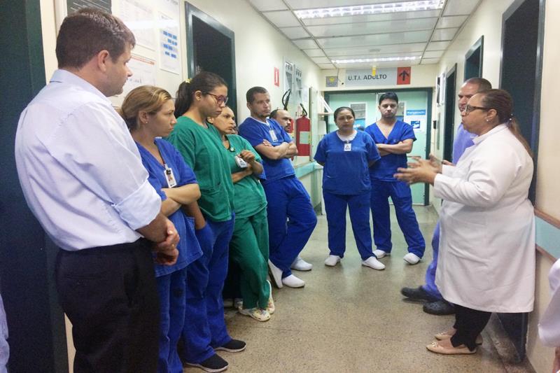 """Denominada """"Ronda de Alta Gestão"""", a iniciativa foi criada por uma organização norte-americana de qualidade da assistência e faz parte das ações implantadas no hospital. No Pará, somente dois hospitais públicos participam do projeto: o Hospital Regional do Sudeste e o Hospital Regional do Baixo Amazonas, em Santarém"""