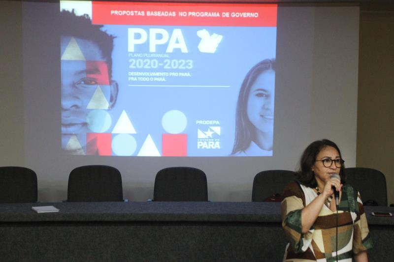 Diretora da Dicap, Cristina Maciel, destacou que a elaboração de projetos consistentes é fundamental para se captar recursos nacionais e internacionais disponíveis