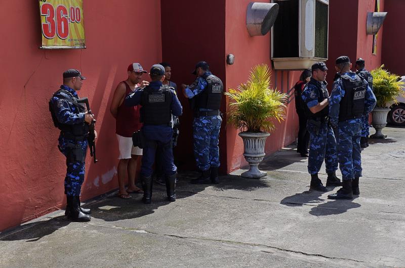 A operação esteve nesta quarta-feira, 24, nos bairros da Sacramenta, da Maracangalha e do Telégrafo.