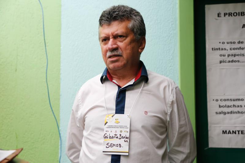 Gilberto Barbosa, superintendente da SeMOB.