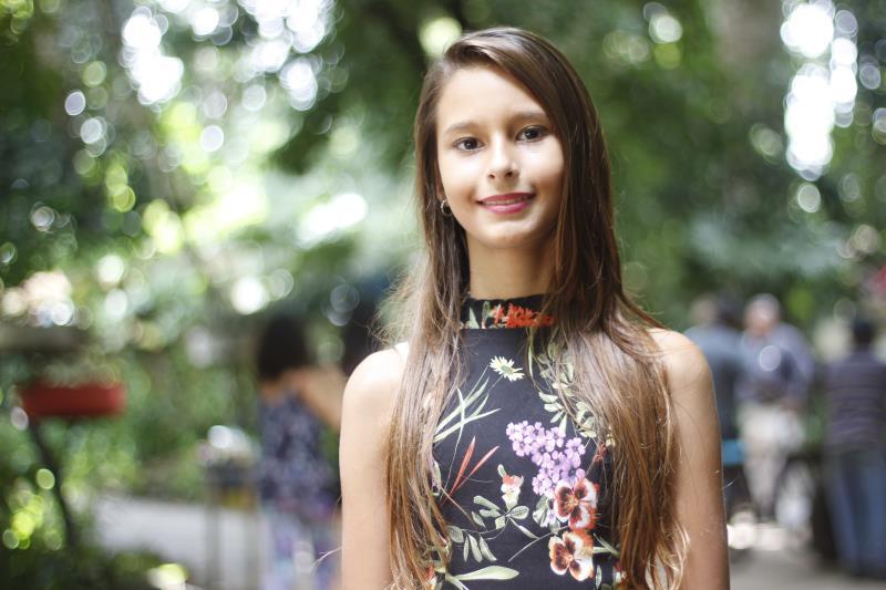 Ana Beatriz Ramos, 10 anos.