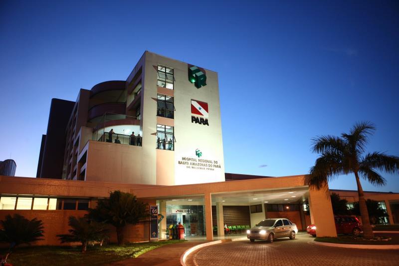 A Pró-Saúde Associação Beneficente de Assistência Social e Hospitalar, gestora do Hospital Regional do Baixo Amazonas (HRBA), em Santarém (PA), abriu seleção para 20 voluntários, que atuarão a partir do mês de junho na unidade.    FOTO: ARQUIVO / AG. PARÁ DATA: 02.05.2019 SANTARÉM - PARÁ