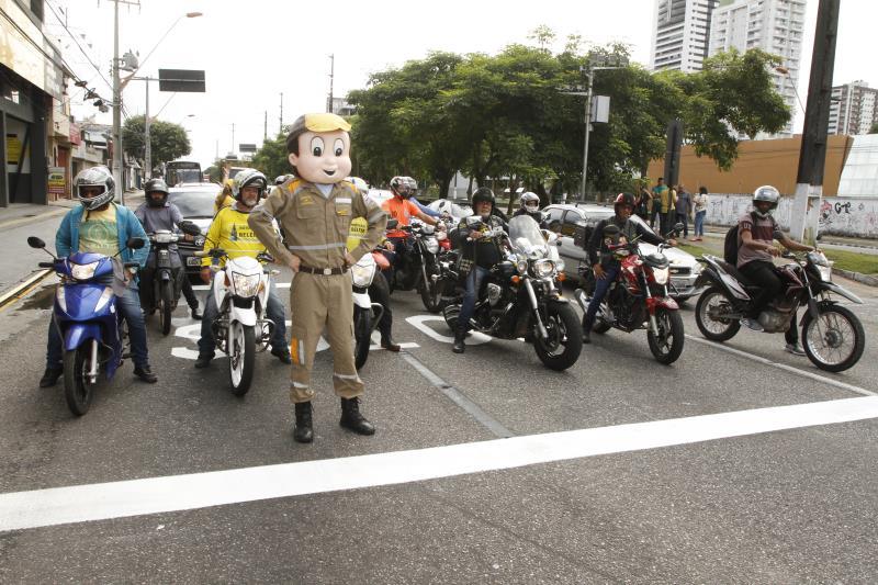 Semobinho lança bolsão de motos pelas ruas de Belém