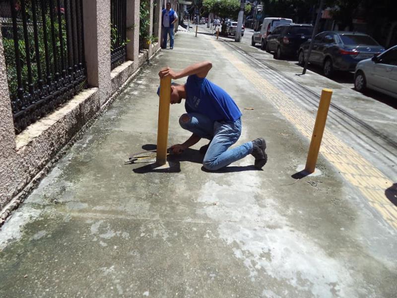 Todos os dias, as equipes estão nas ruas para orientar e verificar as irregularidades.