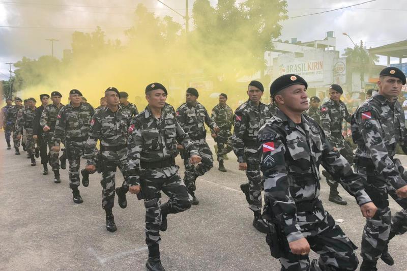 Os novos agentes vão se juntar aos 22 policiais militares que já integram o Grupamento Tático Operacional, aumentando o efetivo no Marajó