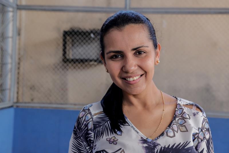 Lidianne Garcia, diretora da escola Josino Viana, ressaltou que é de suma importância conscientizar os alunos quanto aos seus direitos e deveres, para que eles se vejam como pedestres
