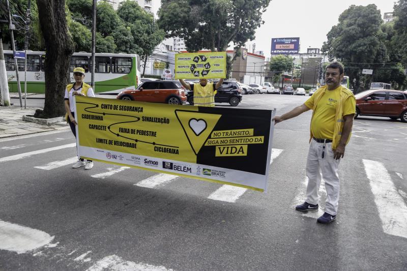 Campanhas de valorização da vida ocorrem por toda a cidade