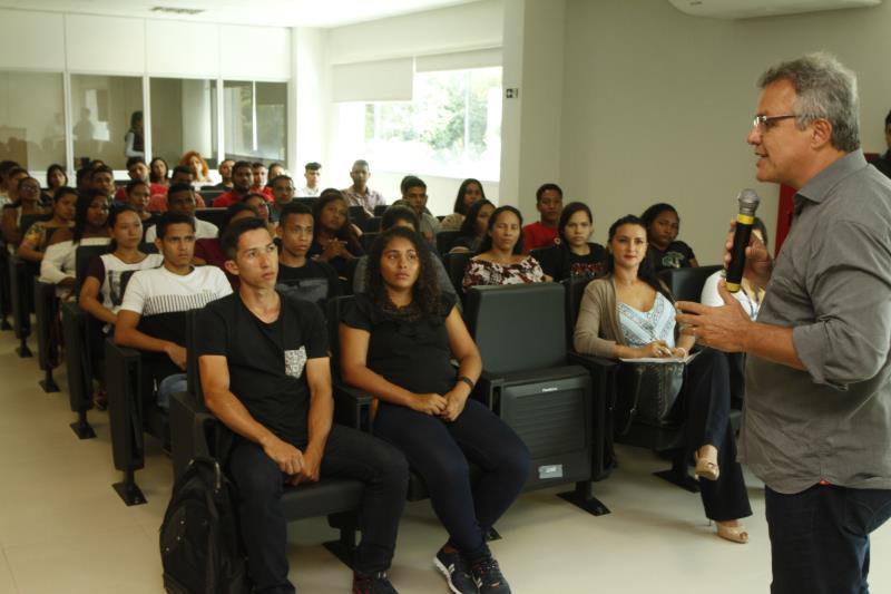 O prefeito Zenaldo Coutinho destacou que Belém é a segunda capital da região Norte que mais gera empregos para os jovens