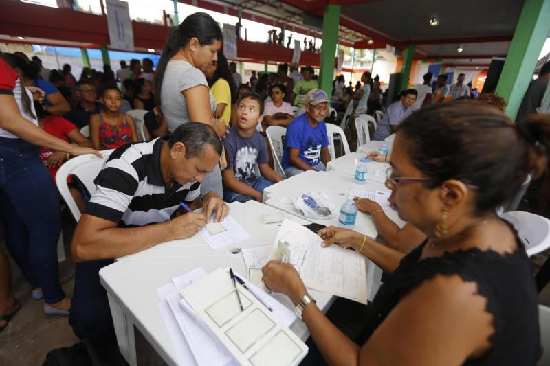 Moradores de São João de Pirabas puderam, ainda, emitir cartão do SUS, carteira de identidade e fazer agendamento para Carteira de Trabalho