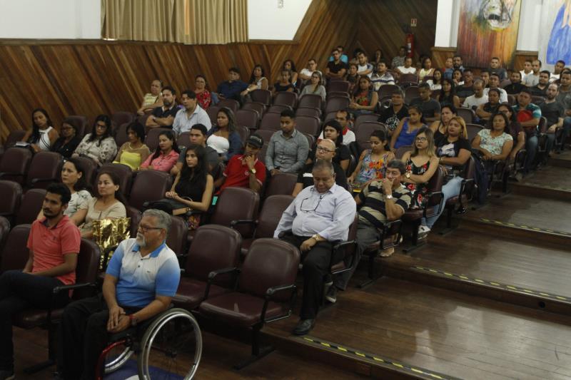 Prefeitura de Belém, por meio da Semec, fez o acolhimento dos servidores temporários da Semec, na segunda chamada do processo seletivo 2019