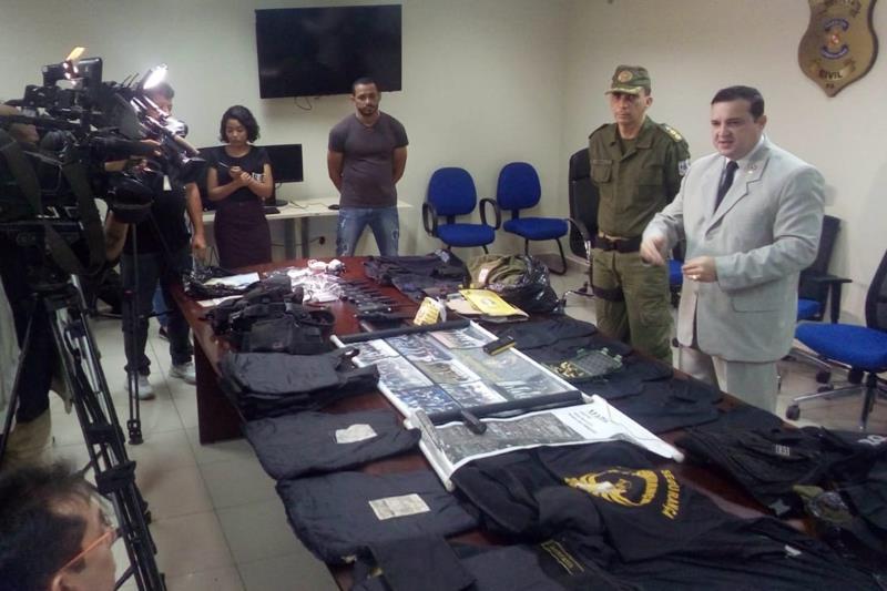 A Polícia Civil do Pará deflagrou, na manhã desta segunda-feira (13), a Operação Ronda Noturna, que resultou no cumprimento de quatro mandados de prisão temporária, três deles contra policiais militares da ativa, por acusação de envolvimento em homicídios e tentativas de homicídio, com características de execução, na Região Metropolitana de Belém.   FOTO: ASCOM POLICIA CIVIL DATA: 14.05.2019 BELÉM - PARÁ