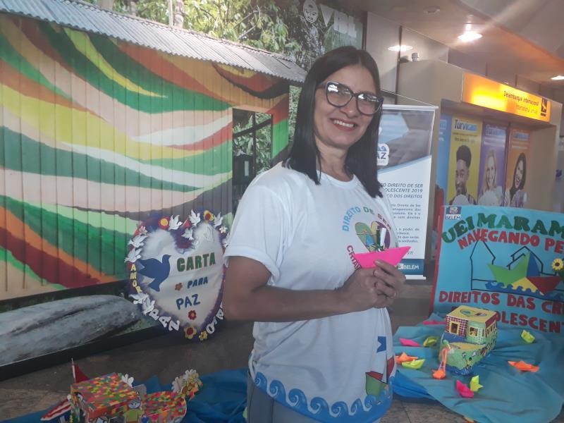 Célia Pena, coordenadora do Projeto Direito de Ser Criança e Adolescentes