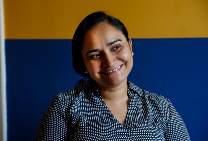 Aprovada no concurso público de 2018 para o quadro efetivo da Funpapa, a assistente social Mônica Barbosa realiza o sonho de encontrar formas de garantir os direitos da população em situação de vulnerabilidade social.
