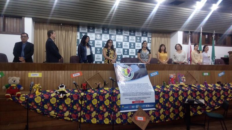 A mesa redonda buscou fortalecer a rede de proteção às crianças e adolescentes no município de Belém
