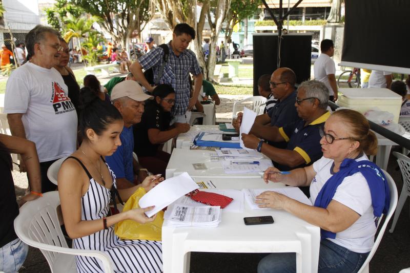 Neste ano, o programa Prefeitura no Bairro começou pelo Guamá, que recebeu os serviços municipais em maio passado