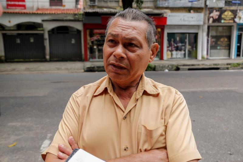 O taxista Waldemar Miranda elogiou ação educativa da SeMOB e disse que muitas pessoas não obedecem à regulamentação
