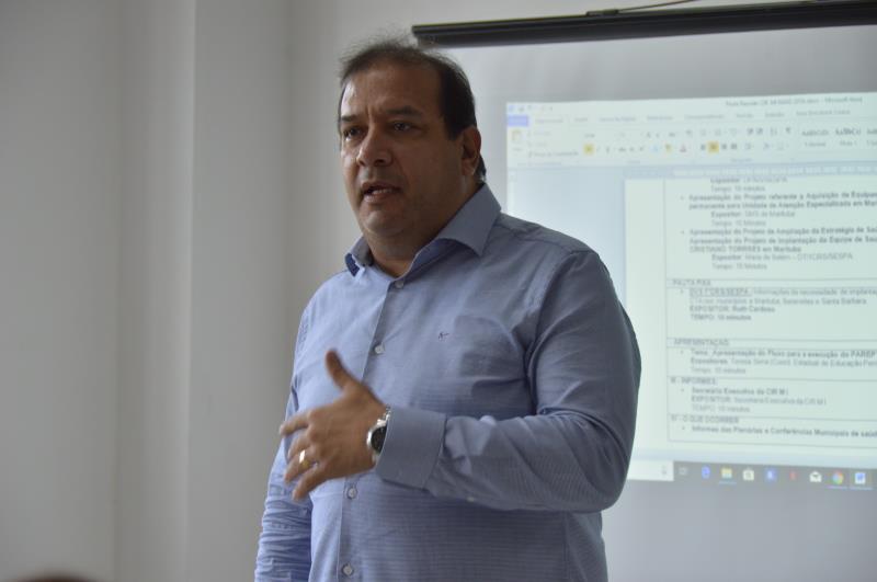 Secretario de Saúde de Belém, Sergio de Amorim Figueiredo