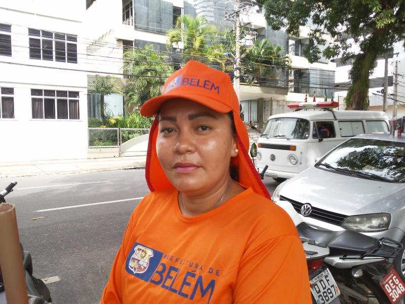 """""""Procuro fazer tudo direitinho, pois sei da importância do meu ofício para a sociedade"""",  disse Bianca Nunes."""