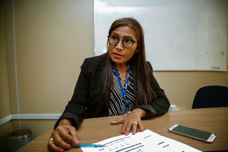 Socorro Souza, diretora do Departamento de Tributos Imobiliários da Sefin, adianta que a plataforma SIAT vai facilitar o acesso dos usuários aos serviços da Secretaria