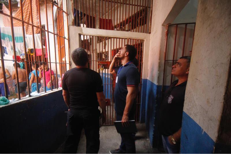 Uma equipe composta por diretores da Superintendência do Sistema Penitenciário do Estado do Pará (Susipe) realiza uma série de visitas às unidades prisionais vinculadas ao órgão. Desde a última quarta-feira (15), os diretores vistoriam o Centro Regional de Recuperação de Redenção (CRRR), no sul do Pará.  FOTO: AKIRA ONUMA / SUSIPE DATA: 17.05.2019 BELÉM - PARÁ