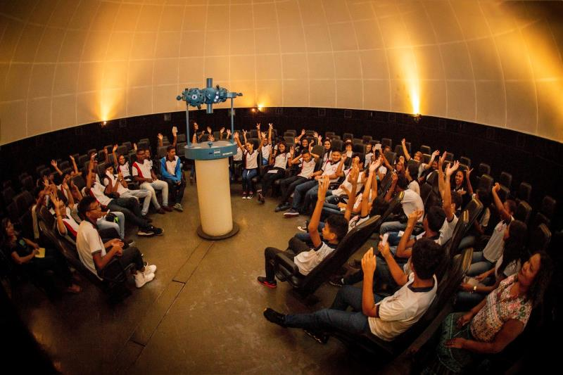 O Centro de Ciências e Planetário do Pará, vinculado à Universidade do Estado do Pará (Uepa), participa nesta sexta-feira (17) e no sábado (18) da 17ª Semana de Museus, promovida no Estado pela Secretaria de Cultura (Secult).   FOTO: NAILANA THIELY / ASCOM UEPA DATA: 17.05.19 BELÉM-PARÁ