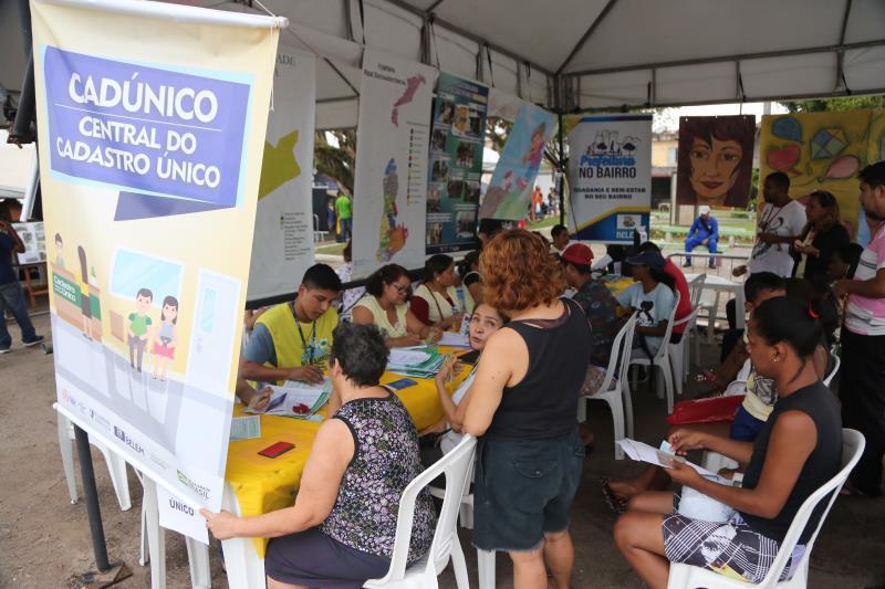Nos três dias do Prefeitura no Bairro, os moardores do Guamá tiveram acesso a mais de 50 serviços, inteiramente gratuitos
