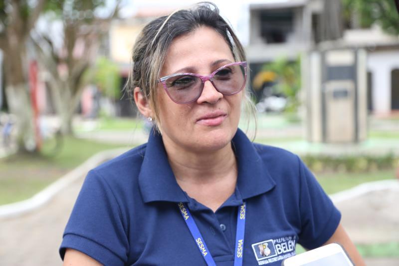A coordenadora das ações da área da saúde, Margareth Marvão, comentou que a comunidade do Guamá surpreendeu a equipe por ter grande participação durante o evento