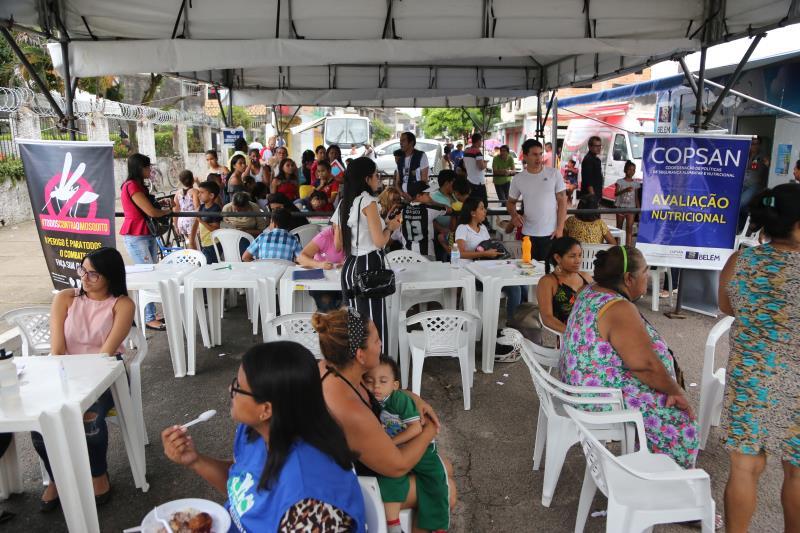 Desde que foi implementado em 2017, o programa Prefeitura no Bairro já atendeu a mais de 120 mil pessoas em 12 bairros diferentes da capital paraense