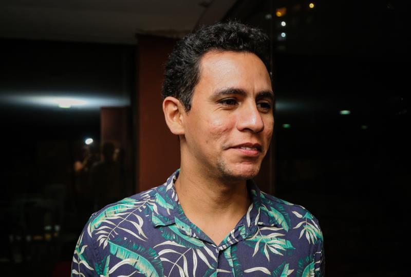"""Gê Souza, conselheiro da categoria teatro, destacou a importância da participação do Conselho nas tomadas de decisão: """"Nós temos a função de ser a voz das categorias dentro da fundação""""."""