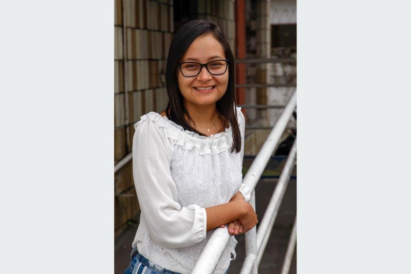 A enfermeira Thalyta Lopes, 30, também beneficiada pelo Bolsa Pará, ressalta o auxílio concedido pelo Estado para custear despesas