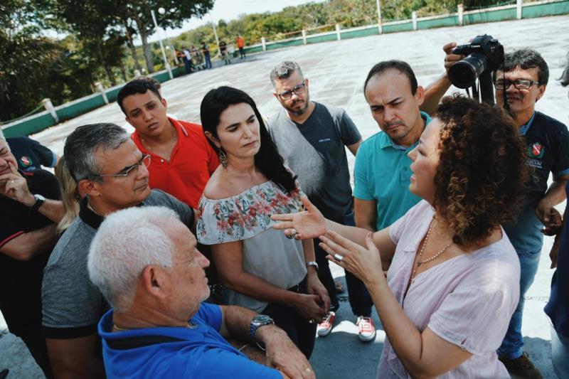Decisão foi anunciada nesta terça (28), no mirante de São Benedito, durante uma coletiva com a presença da secretária Ursula Vidal