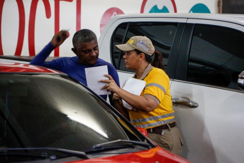 A ação integra a programação da Prefeitura de Belém referente ao Maio Amarelo.
