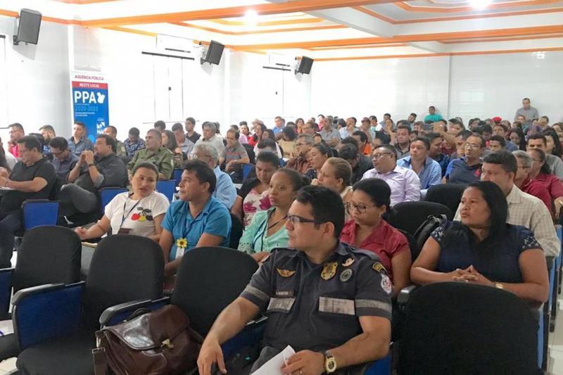 Representantes de vários segmentos sociais participaram da audiência, dando sua contribuição para o desenvolvimento do Estado