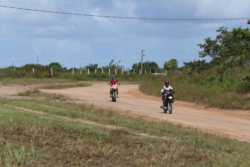 A pavimentação da Rodovia PA-419, no trecho que passa pela área urbana de Óbidos, vai melhorar o acesso à zona rural e o escoamento da produção agrícola