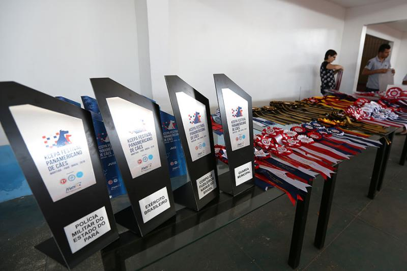 Medalhas para os campeões de mais um circuito da Confederação Brasileira de Kennel Clubes.