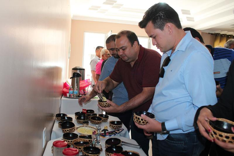 Job Junior da Sedap e Francisco Carlos de Souza, Secretário de Agricultura de Castanhal participaram do evento.