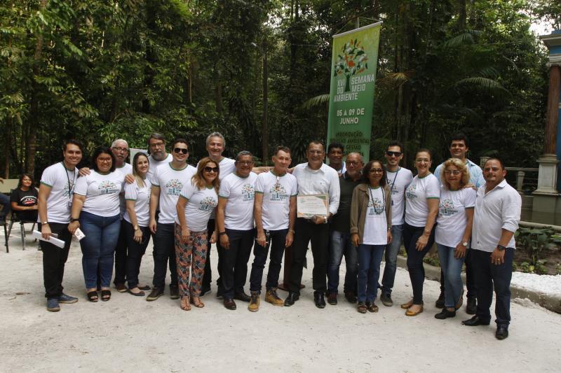 """2019.06.05 - PA - Belém - Brasil: Abertura da Semana do Meio Ambiente no Jardim Botânico """"Bosque Rodrigues Alves""""."""
