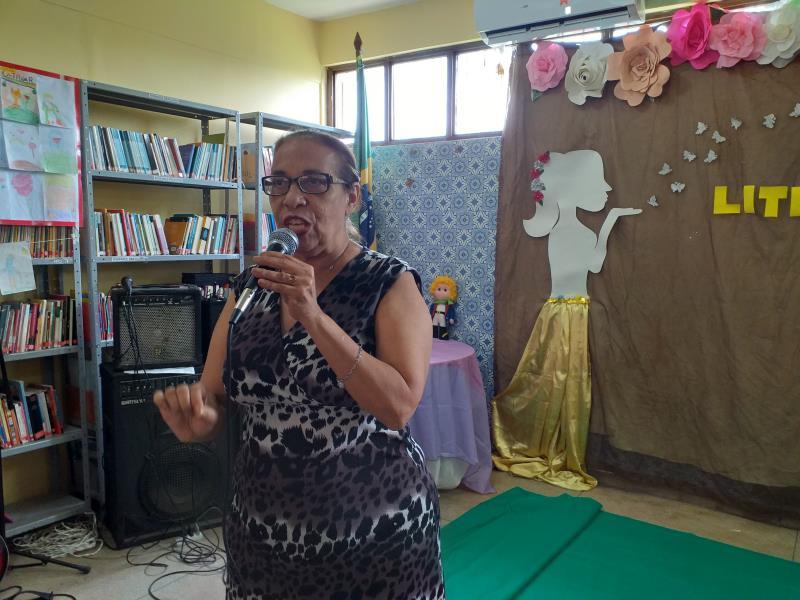 Georgette Albuquerque, coordenadora do Sistema Municipal das Bibliotecas Escolares, disse que o desenvolvimento dos alunos é marcante