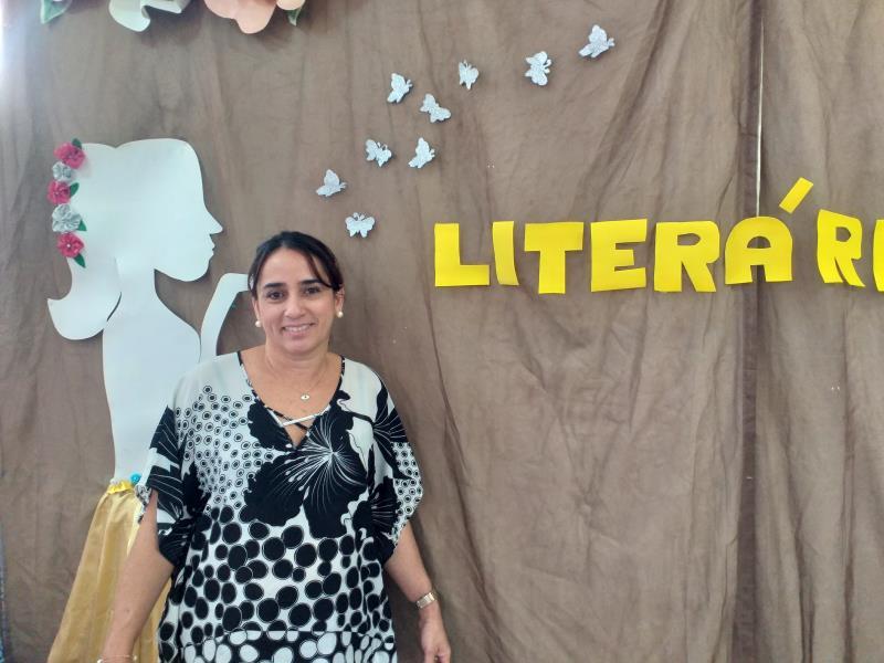 A diretora de Educação da Semec, Ana Célia Carvalho, destacou que através da leitura se percebe o aumento da concentração e interação dos alunos