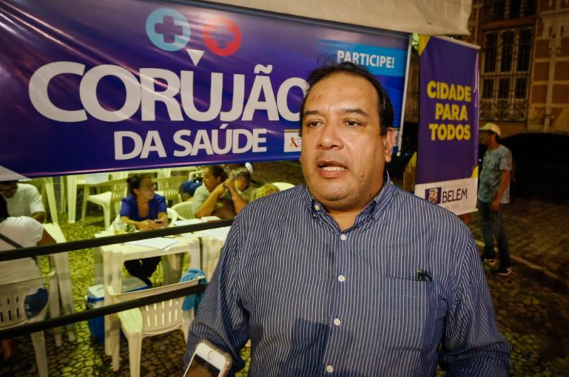Na foto: O Secretário Sérgio Figueiredo