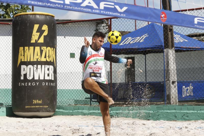 2019.06.08 - PA - Belém - Brasil: Primeira etapa do Circuito Paraense de Futevôlei.