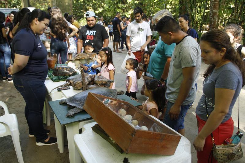 """2019.06.09 - PA - Belém - Brasil: Encerramento da Semana do Meio Ambiente no Jardim Botânico """"Bosque Rodrigues Alves""""."""