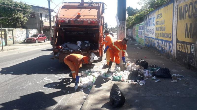 O mutirão tinha como prioridade atender os trechos com maior incidência de lixo, no entanto, diversas áreas da cidade foram atendidas.