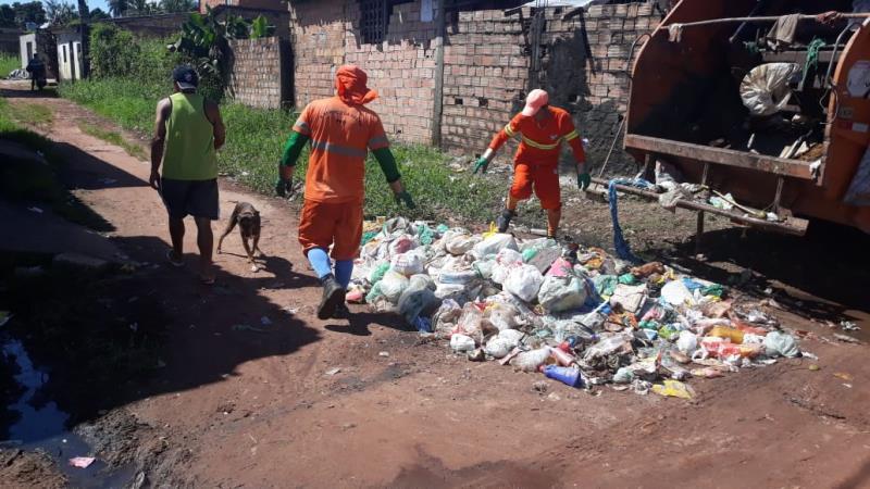 Na Pratinha II o trabalho foi recorçado para atender a todo o bairro.