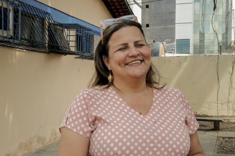 Manoela Porto coordena o Núcleo Escola Indígena da Semec e disse que as aulas ministradas às crianças Warao têm por base a afetividade
