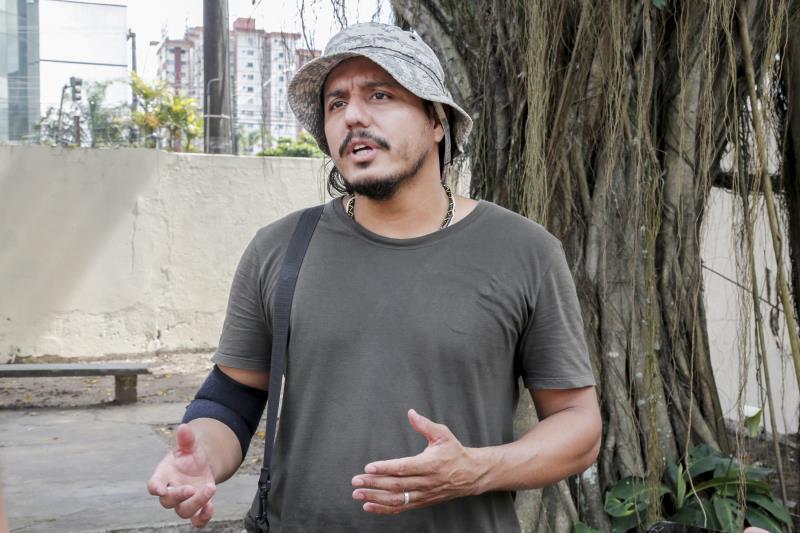 Carlyle Martins, antropólogo da Funpapa que presta assistência aos índios da etnia Warao, destacou que o novo abrigo passou por adaptação ao modo de vida dos Warao