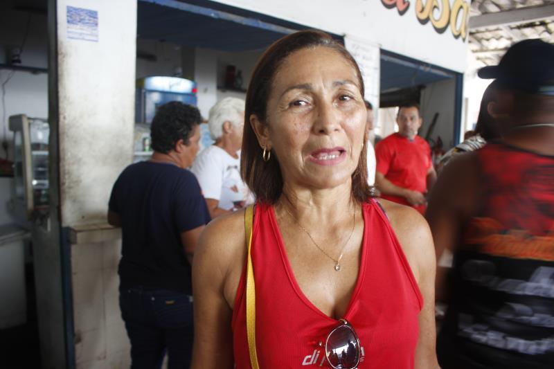 """A comerciante Aldenora Moraes achou o encontro produtivo: """"Espero que a Prefeitura promova mais reuniões, pois muitas coisas podem melhorar por meio do diálogo aberto""""."""