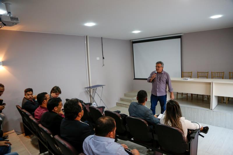 O prefeito Zenaldo Coutinho comentou sobre a importância da união entre os  envolvidos.
